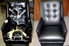 перетяжка мебели до и после фото