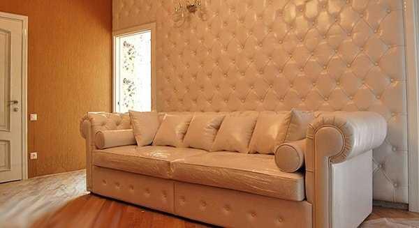 каретная стяжка на мебели