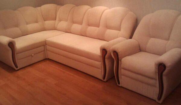 Обивка диванов (замена пружинного блока)