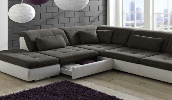 Обивка углового дивана