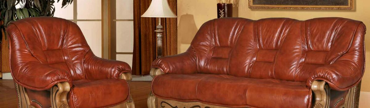 Восстановление кожаной мебели