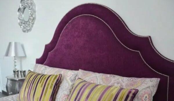 Перетяжка изголовья кровати